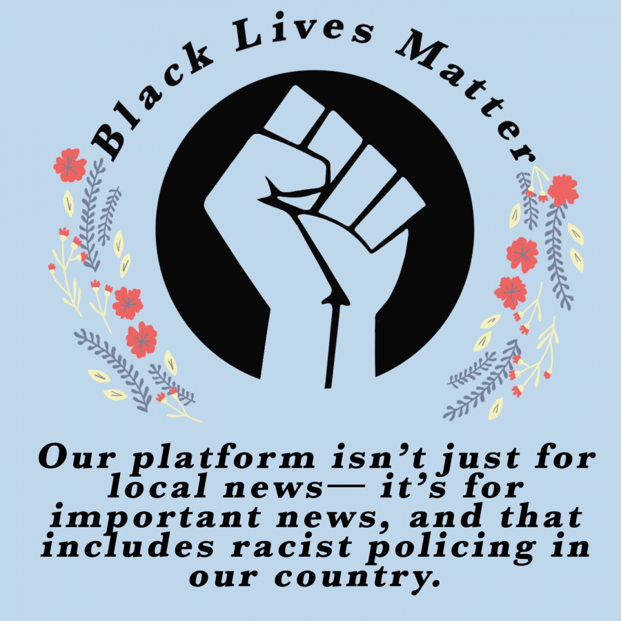 The Talon supports the Black Lives Matter movement
