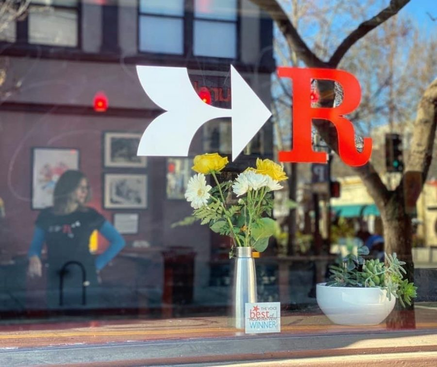 Red+Rock+Coffee+in+Downtown+Mountain+View+%28pictured+above%29+has+been+a+place+for+numerous+Silicon+Valley+patrons+to+grab+a+dark+roast+and+enjoy+community+held+events+for+15+years.+Nearly+having+to+close+their+business%2C+Red+Rock+Coffee+continues+to+bring+smiles+to+the+faces+of+aspiring+musicians%2C+knitters%2C+bikers+and+anyone+else+who+finds+a+home+between+its+red+walls.