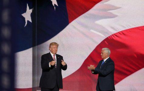 President Donald Trump and Vice President Mike Pence. Tonight was the vice presidential debate between Pence and Senator Kamala Harris.