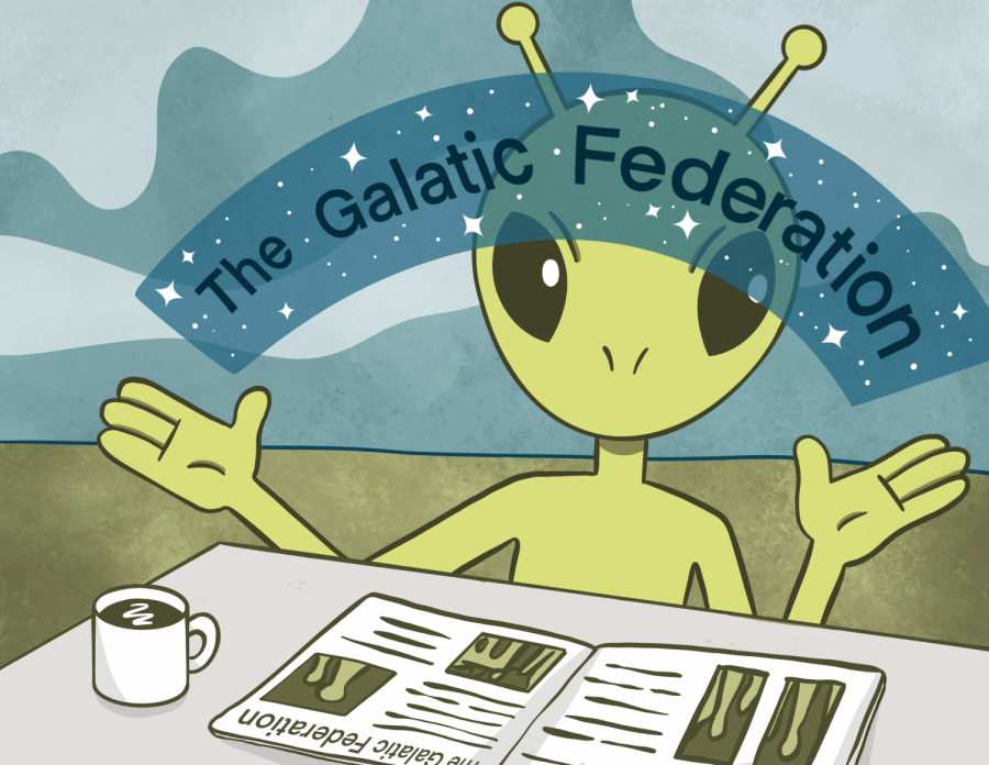 While the existence of aliens isn't outside the realm of possibility, the galactic federation definitely is.