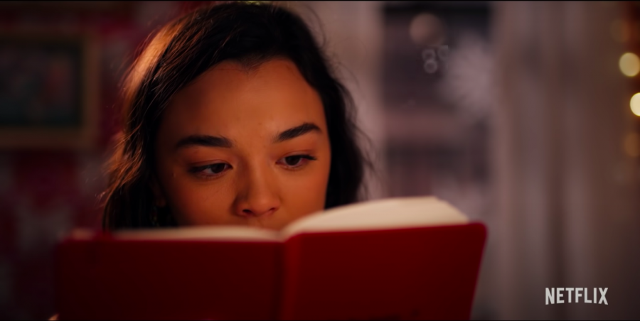 Lily reads Dash's latest addition to their shared notebook, eager to learn more about him. Netflix's