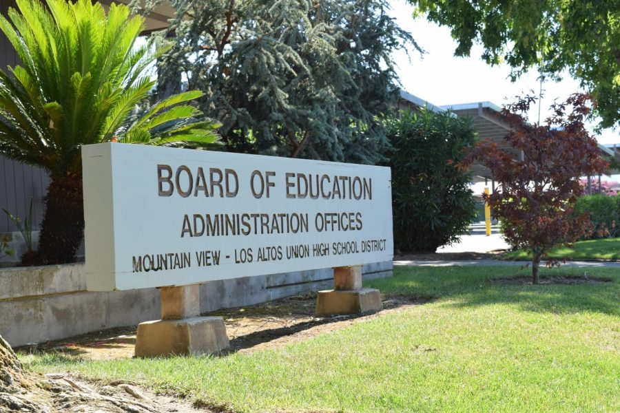 The Mountain View–Los Altos (MVLA) School Board held a meeting on Monday, January 25, to present a possible hybrid return to the Los Altos High School campus.
