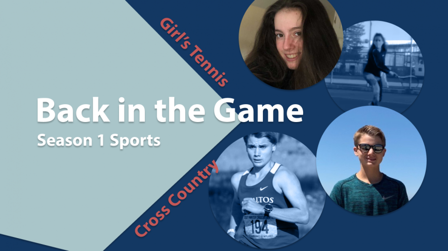 Back in the game: Girls tennis and cross country