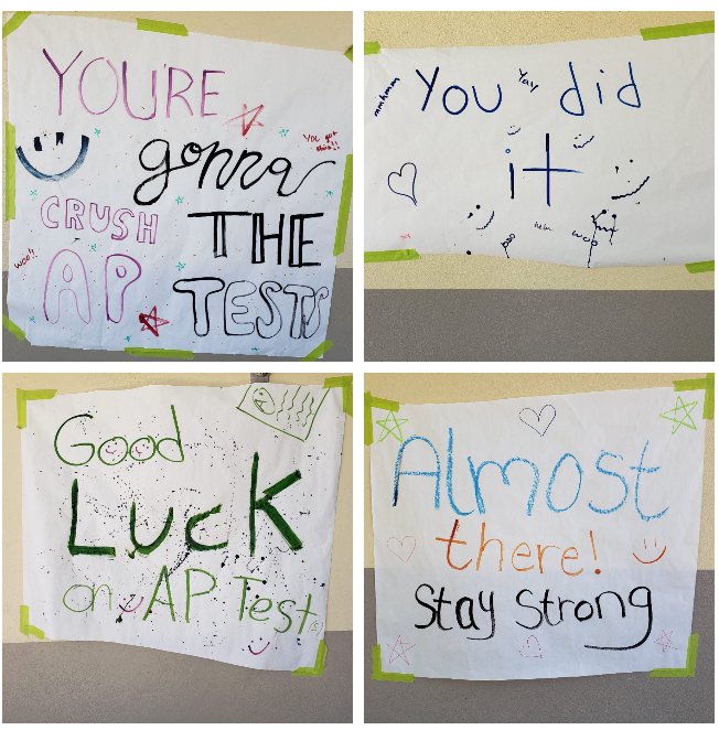 SATIRE: Years of research into reducing student stress culminate with the unveiling of motivational signs
