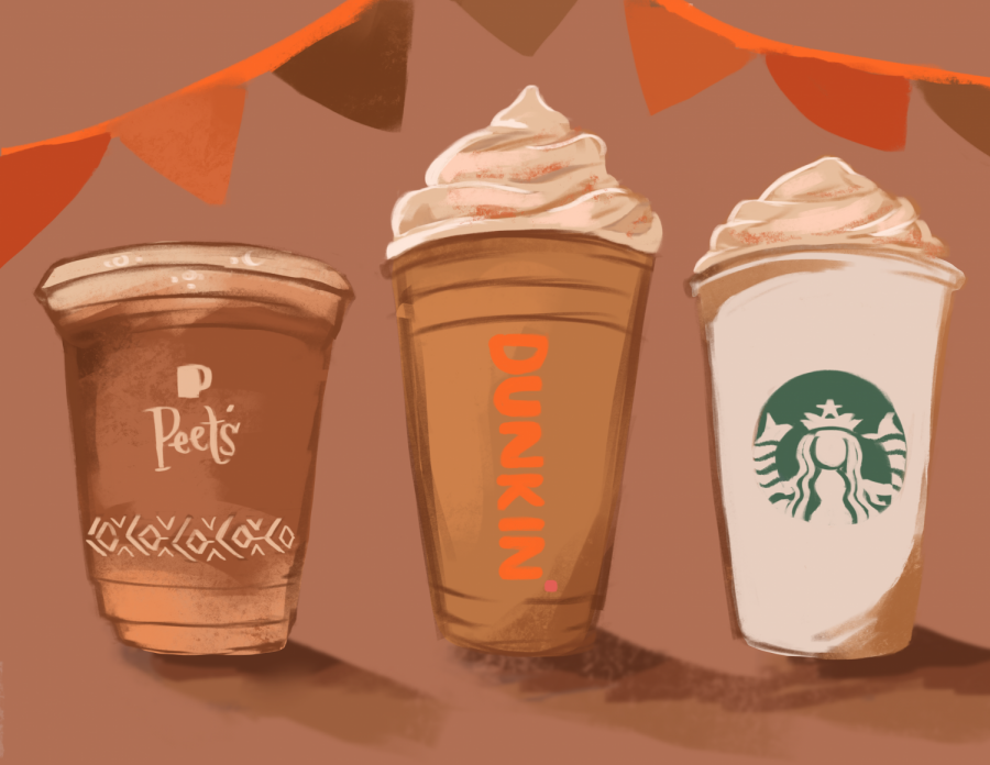 Now that its fall, pumpkin spice lattes have made their return. We ranked the three big coffee companies — Starbucks, Peet's and Dunkin' — to help decide which latte is best for you.