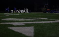 The Eagles dominated in a 34-7 home victory against Gunn High School. They remain undefeated in league play.