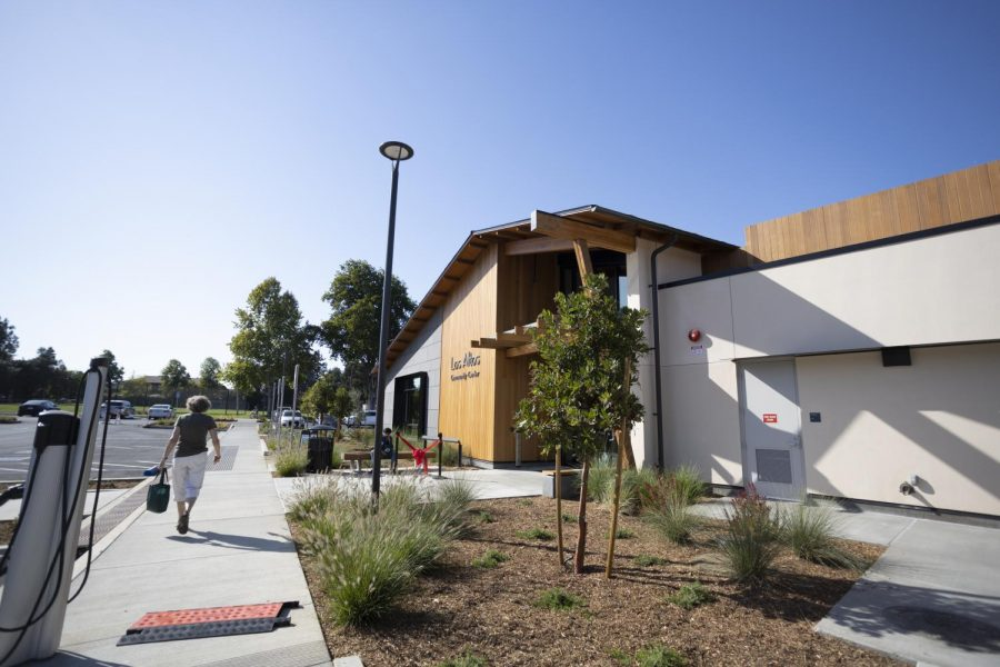 The+Los+Altos+Community+Center+had+its+grand+opening+on+Saturday%2C+October+2%2C+highlighting+community+speakers+and+giving+attendees+a+tour+of+the+space.+